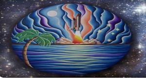 Mosaic painting - Stocker Astro Center