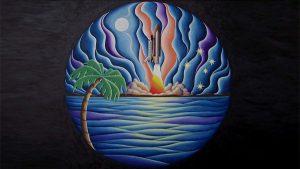 Mosaic painting - Stocker Astro