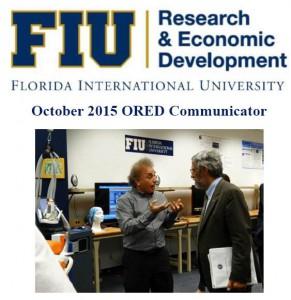 October 2015 ORED Communicator Newsletter cover