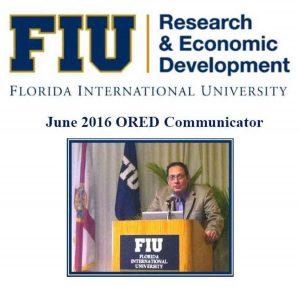 June 2016 ORED Communicator Newsletter cover