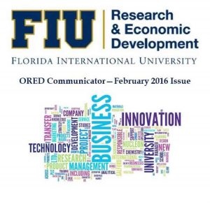 Feb 2016 ORED Communicator Newsletter Cover