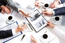 image of working hands in meeting