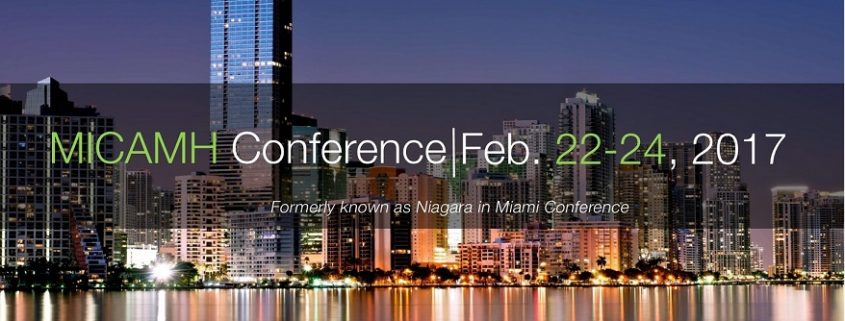 MICAMH Conference Feb. 22-24, 2017 notice