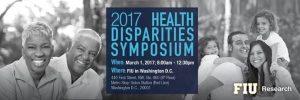2017 Health Disparities Symposium event flyer