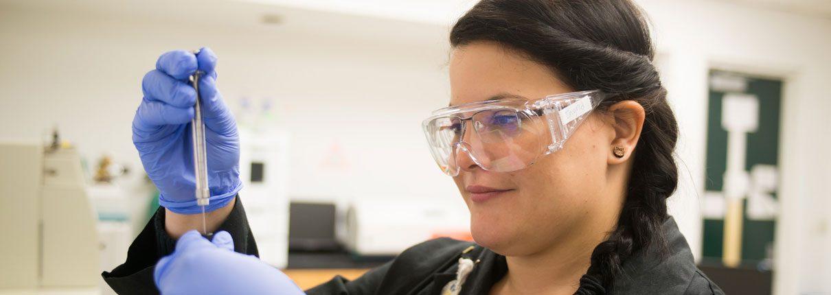 FIU Student Ingrid Lehman Andino Lab Technician