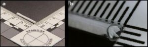 IP 1302-Image of CMV device A) overview B) detailed close up